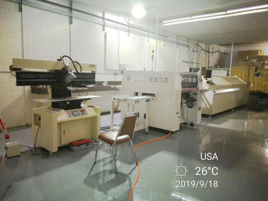 Hanwha Pick and Place Machine